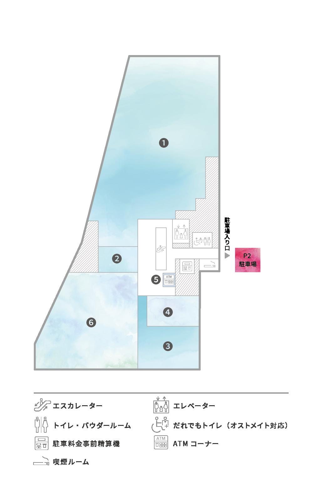 2F Floor Guide