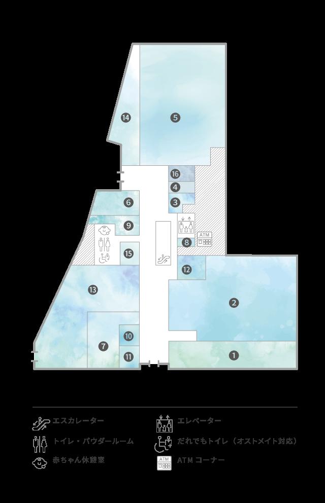 1F Floor Guide
